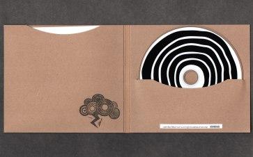EP von innen, mit gestempelter Logowolke und Download-Code